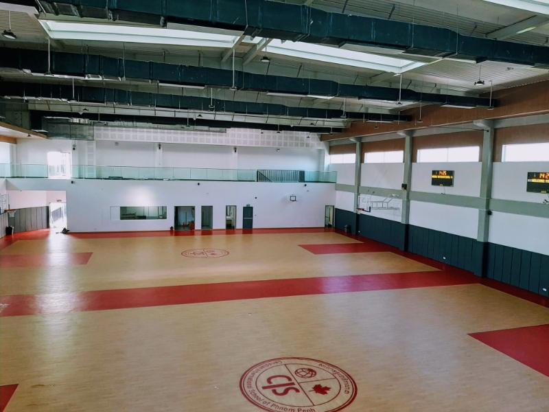 CIS Basketball courts