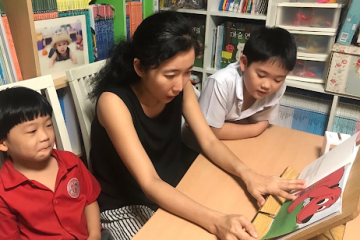 Building literacy skills with children